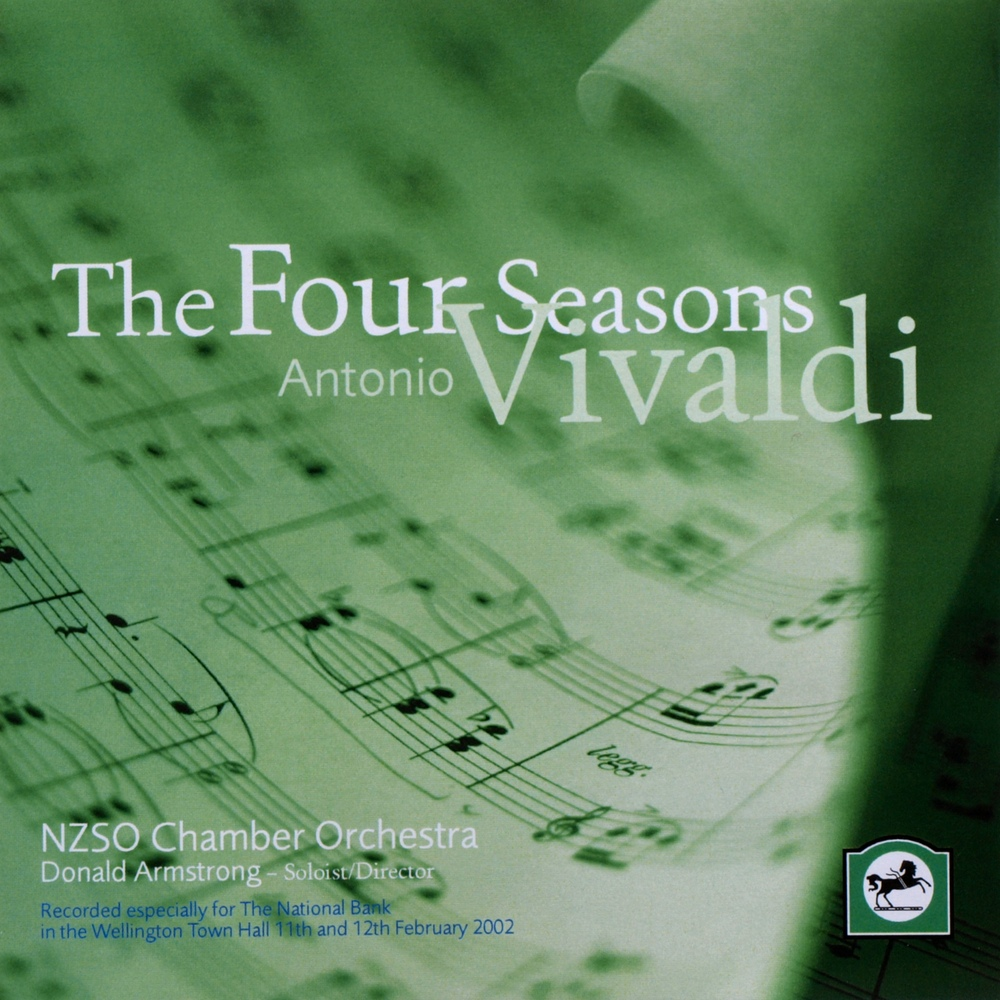 Vivaldi: The Four Seasons (NZSO Chamber Orchestra, Wellington, 2002)